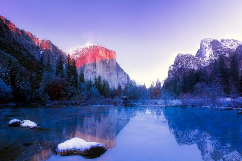 mejores lagos en California