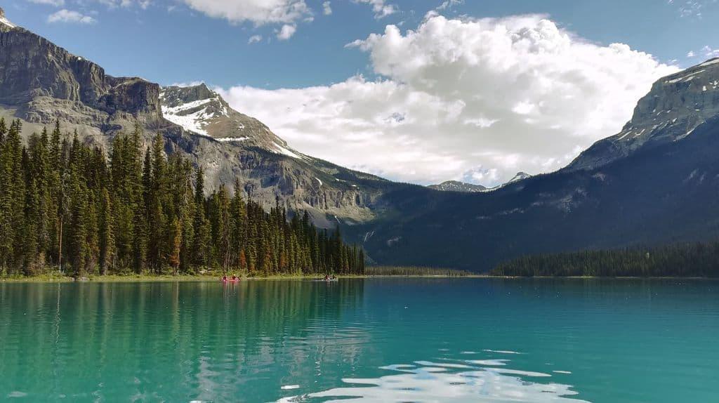 Los 15 mejores lagos en Canadá 12