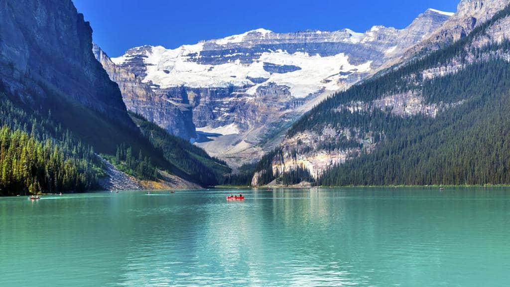 Los 15 mejores lagos en Canadá 14