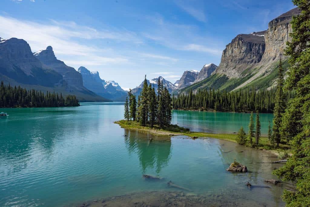 Los 15 mejores lagos en Canadá 5