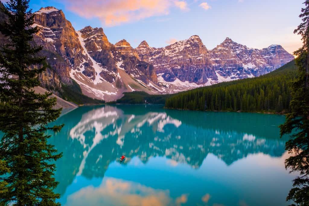 Los 15 mejores lagos en Canadá 15