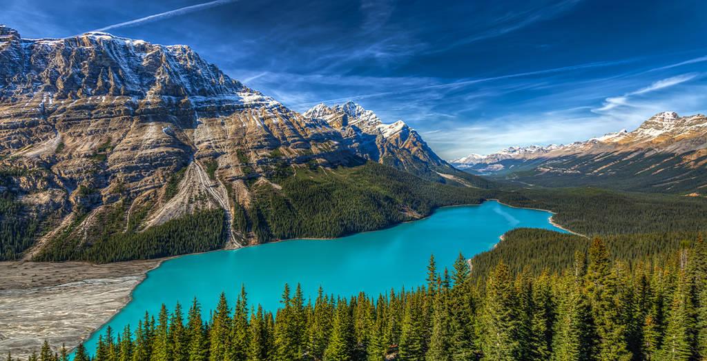 Los 15 mejores lagos en Canadá 11