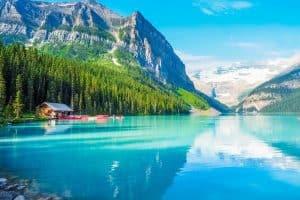 Los 15 mejores lagos en Canadá 6
