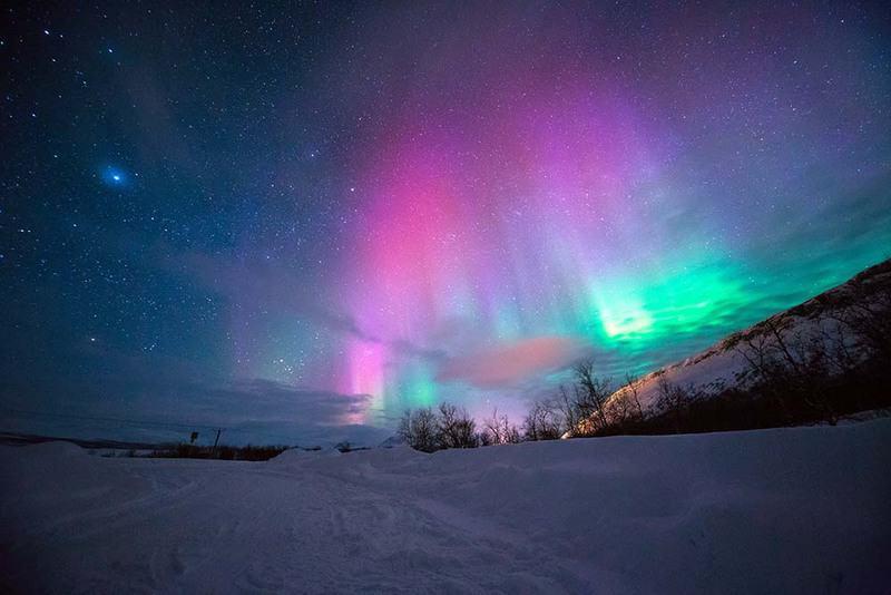 10 lugares donde ver auroras boreales 3