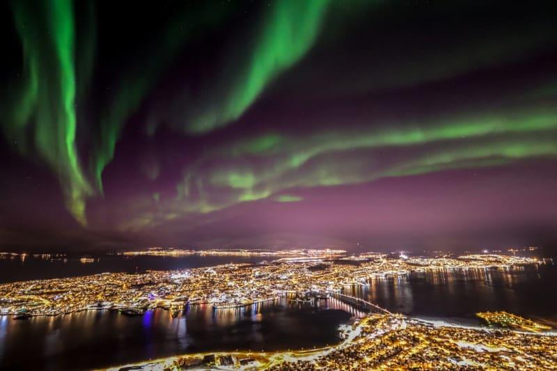 10 lugares donde ver auroras boreales 5
