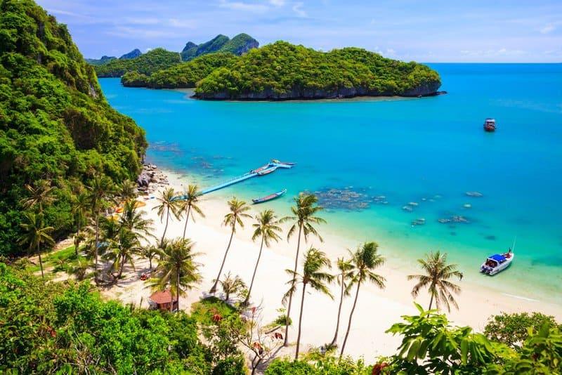 14 islas de Tailandia más bonitas 11
