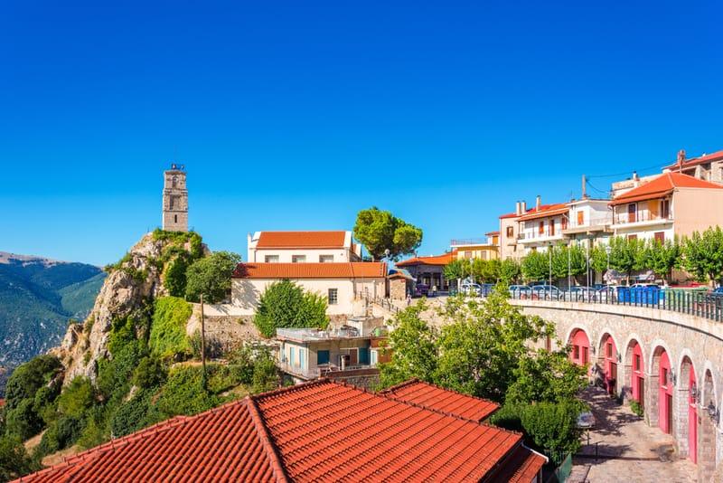 18 ciudades de Grecia más bonitas 12