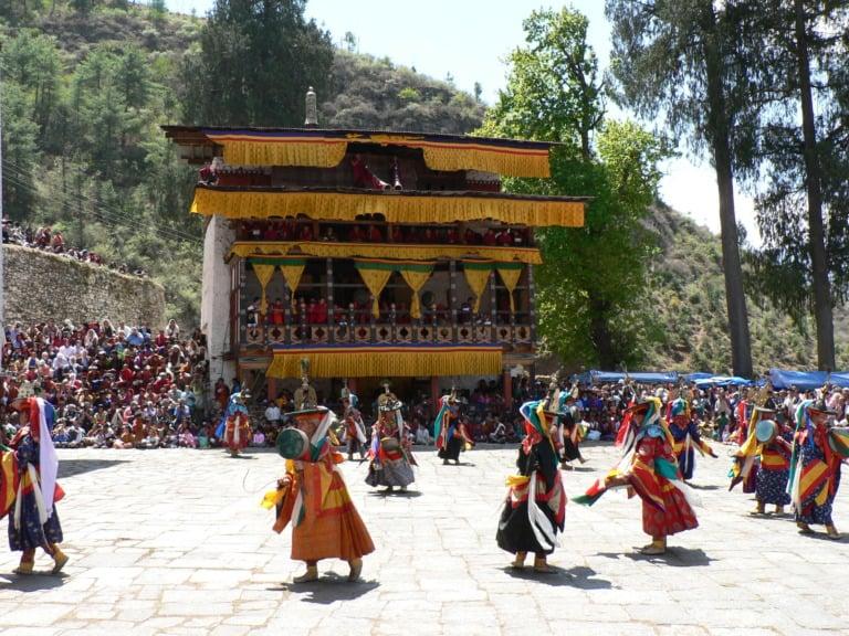 15 lugares que ver en Bután 10