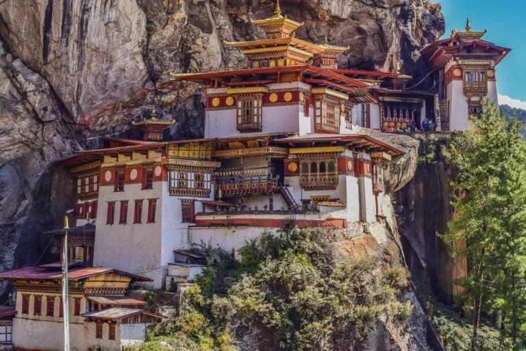 15 lugares que ver en Bután 1