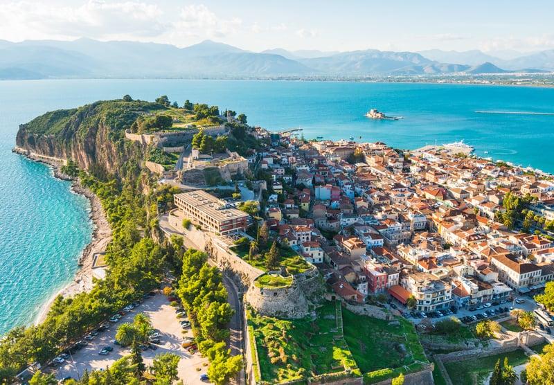 18 ciudades de Grecia más bonitas 10