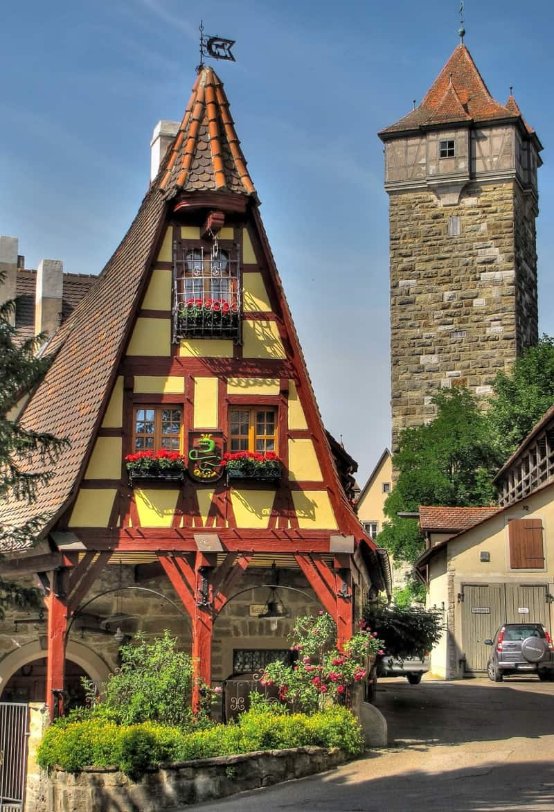 20 lugares que ver en Rothenburg 18