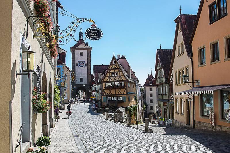 20 lugares que ver en Rothenburg 1