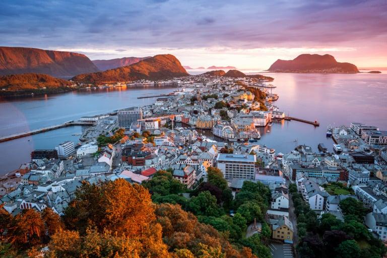 10 ciudades más bonitas de Noruega 1