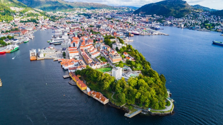 10 ciudades más bonitas de Noruega 2