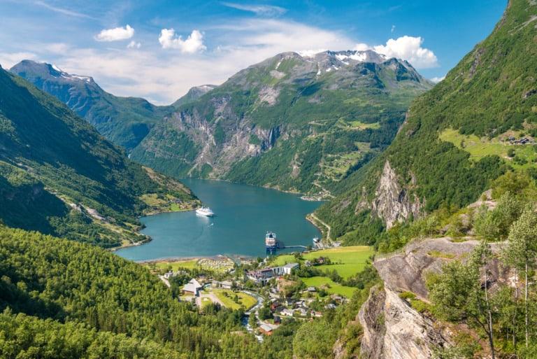 10 ciudades más bonitas de Noruega 4
