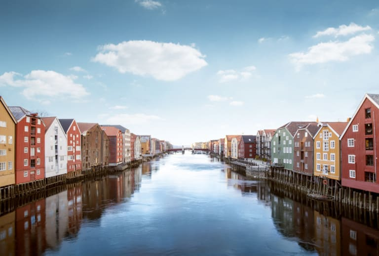 10 ciudades más bonitas de Noruega 10
