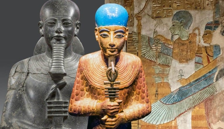Dioses egipcios: qué, cuántos, cómo son y lista 15
