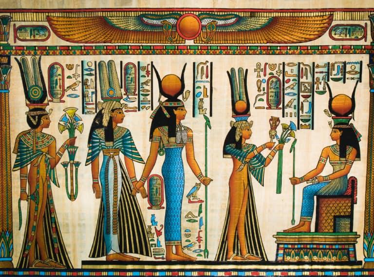 Dioses egipcios: qué, cuántos, cómo son y lista 1