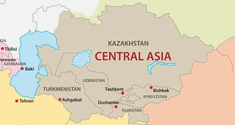 Países de Asia: cuántos son y sus capitales 5