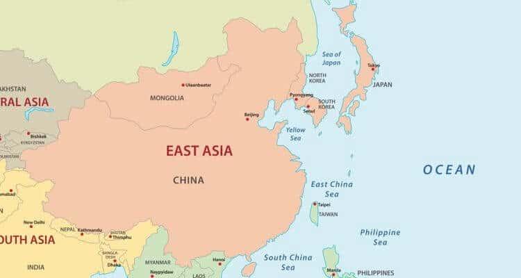 Países de Asia: cuántos son y sus capitales 2