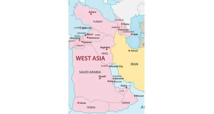Países de Asia: cuántos son y sus capitales 3