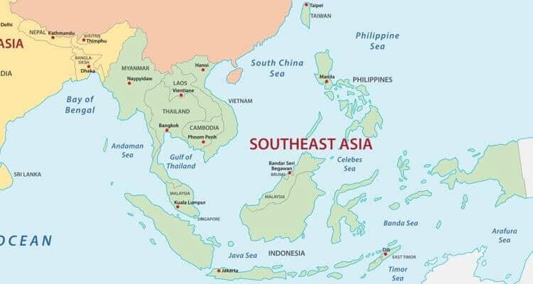 Países de Asia: cuántos son y sus capitales 6