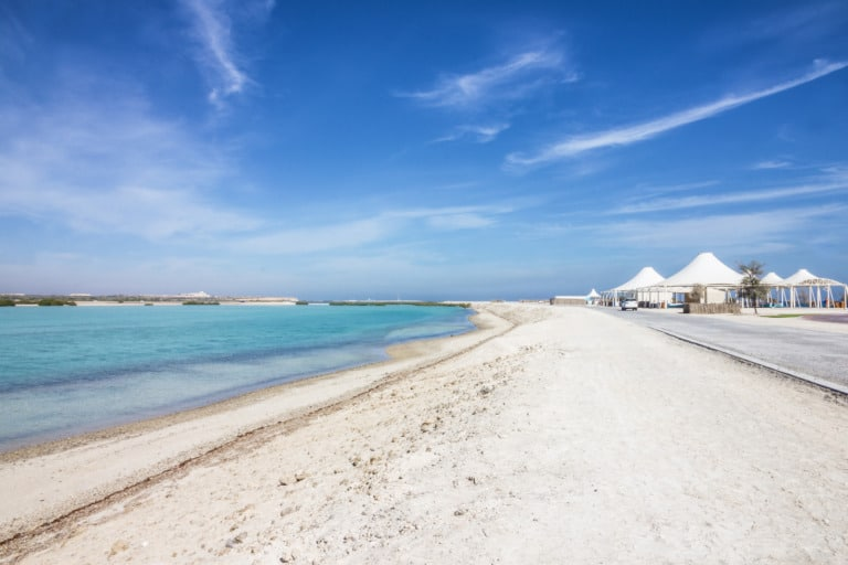 9 mejores playas de Abu Dhabi 4
