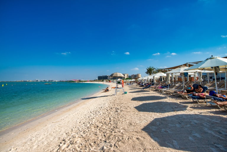 9 mejores playas de Abu Dhabi 2