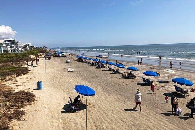 17 mejores playas de Galveston 11