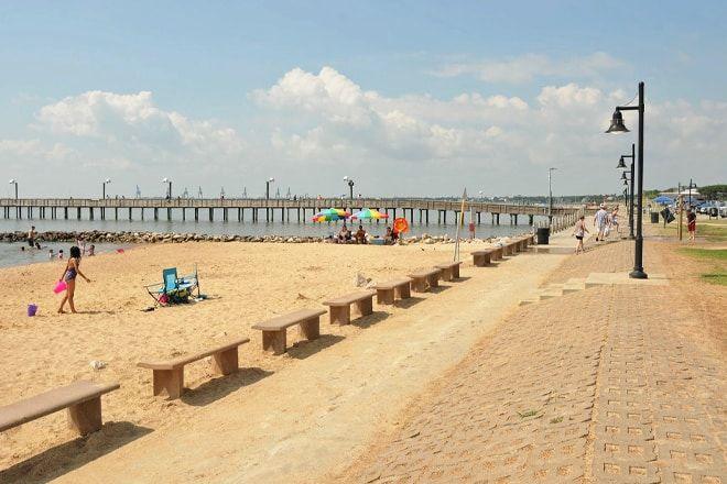 17 mejores playas de Galveston 15