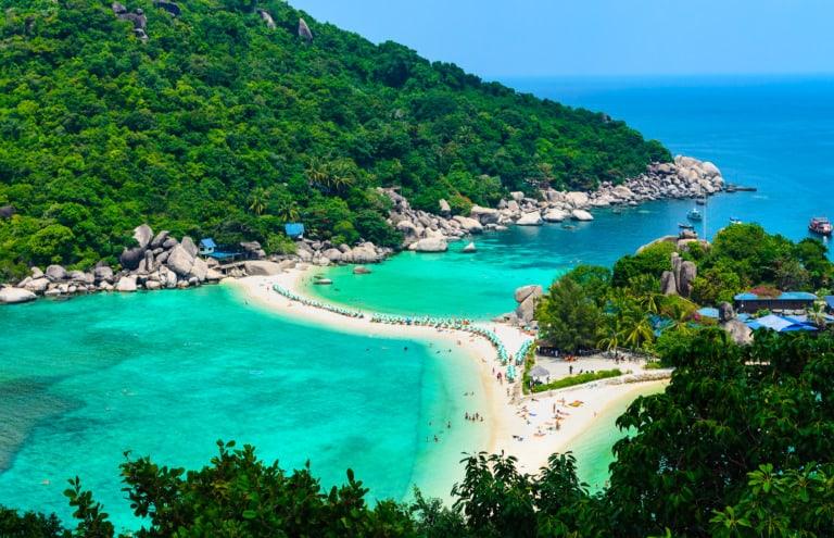 17 mejores playas de Koh Tao 17