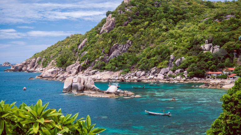 17 mejores playas de Koh Tao 13