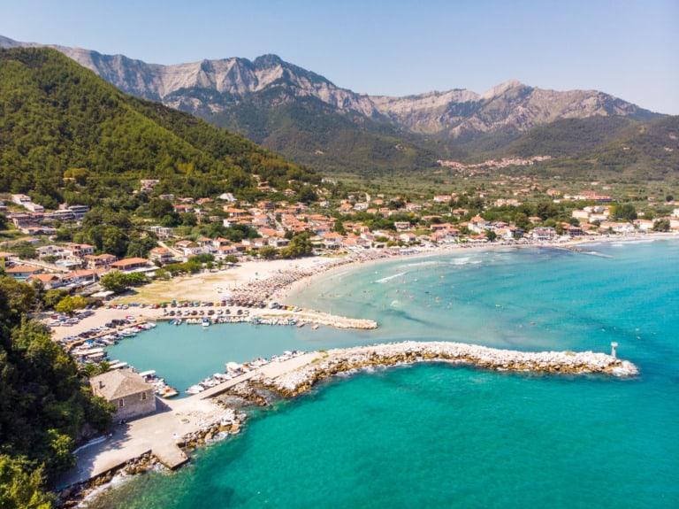 8 mejores playas de Tasos 2