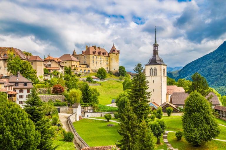 20+ pueblos más bonitos de Suiza 7