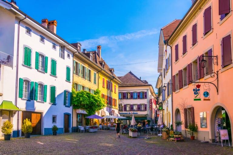 20+ pueblos más bonitos de Suiza 13