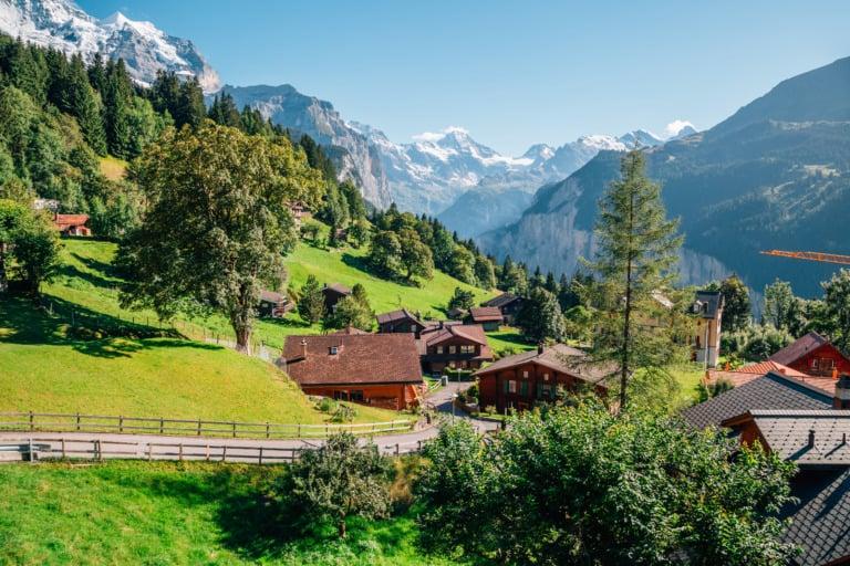 20+ pueblos más bonitos de Suiza 20