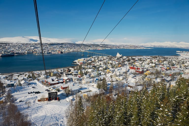 20 lugares que ver en Tromso 19