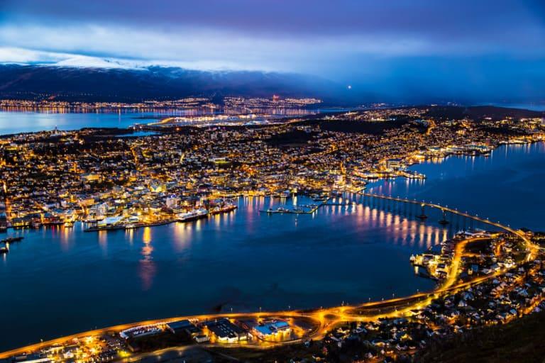 20 lugares que ver en Tromso 1