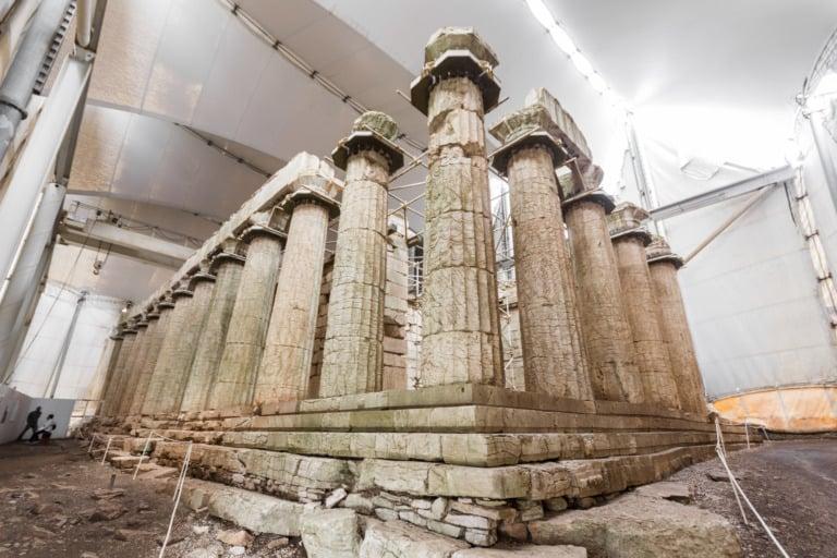 15 templos griegos más impresionantes 15