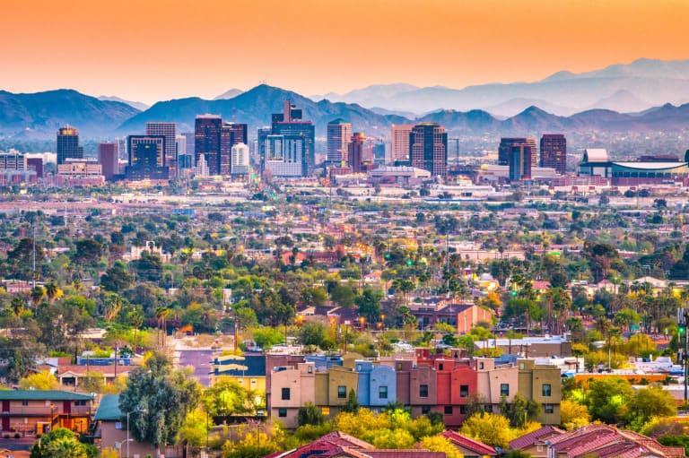 25 ciudades de Arizona más importantes 1