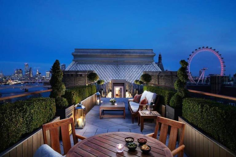 20 hoteles románticos en Londres 15