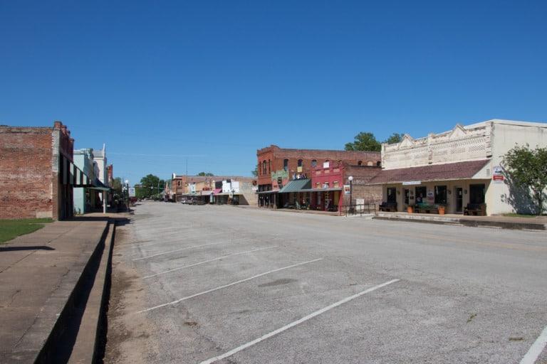25+ pueblos de Texas más bonitos 17