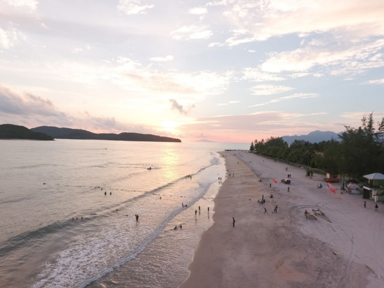 19 mejores playas de Malasia 7