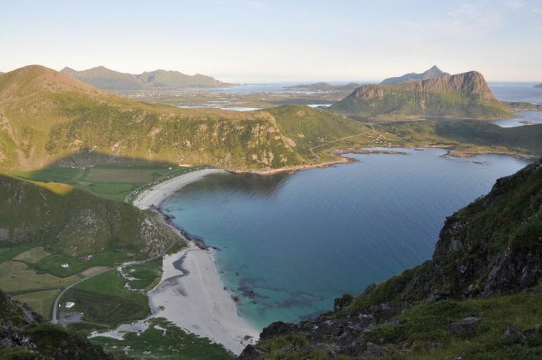 15 mejores playas de Noruega 12