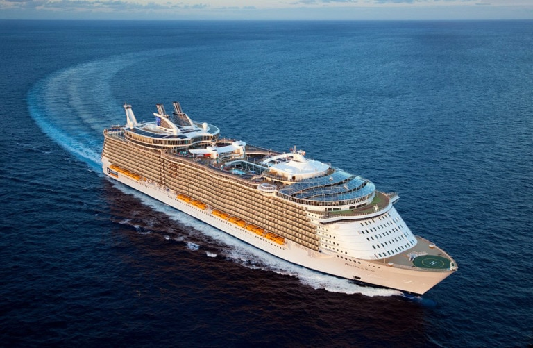 10 cruceros más grandes del mundo 3