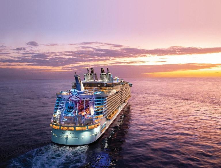 10 cruceros más grandes del mundo 4