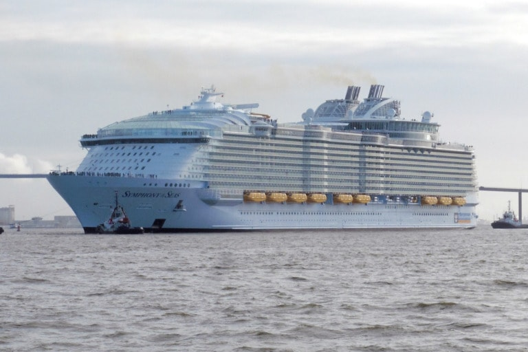 10 cruceros más grandes del mundo 1