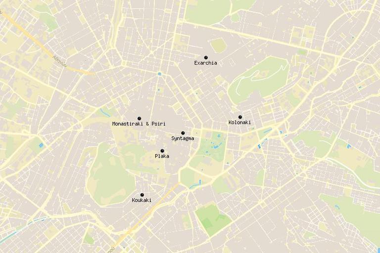 Dónde alojarse en Atenas 1