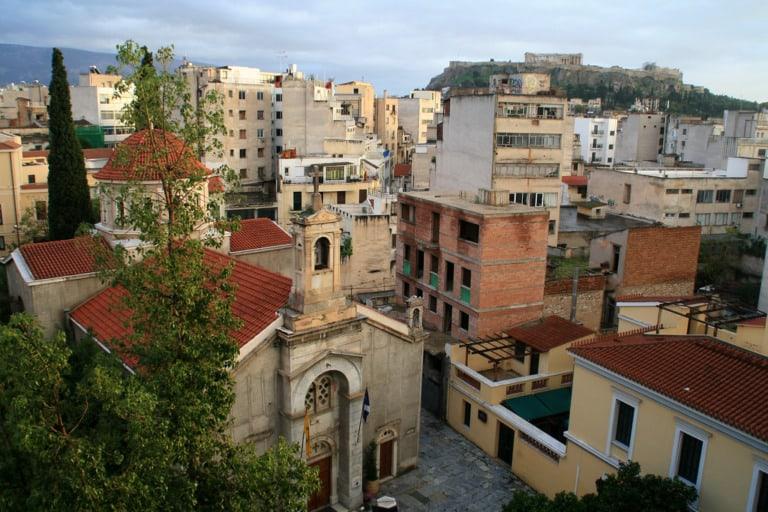 Dónde alojarse en Atenas 21