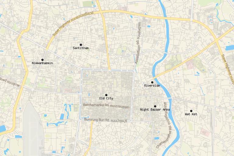 Dónde alojarse en Chiang Mai 1